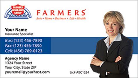 Many people like being rewarded beyond their insurance. Farmers Insurance business card designs PRINTZU.COM
