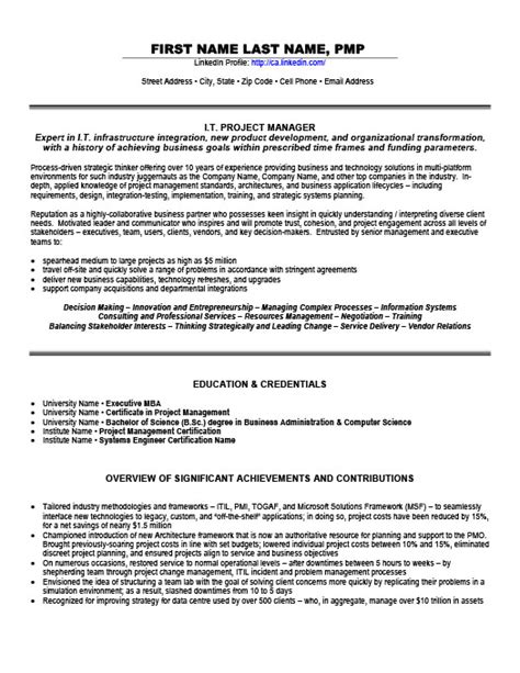 technical delivery manager resume it project manager resume template premium resume