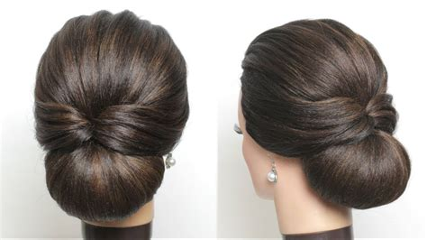 simple bridal hairstyle  long hair easy wedding