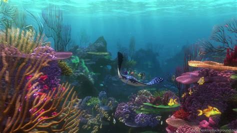 Animated Underwater Wallpaper - finding nemo animation underwater sea tropical fish