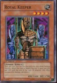 Royal Keeper  Structure Deck Zombie World, Yugioh