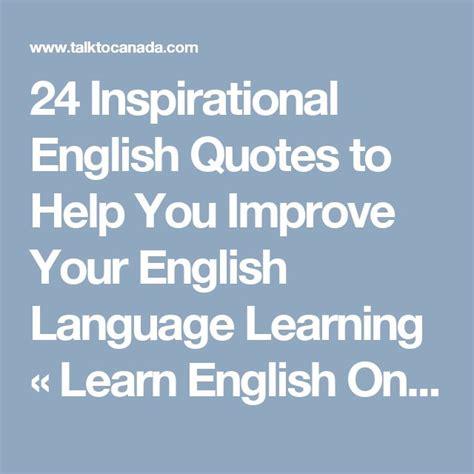 inspirational english quotes    improve
