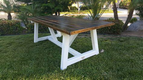 Custom Farm Style Picnic Table