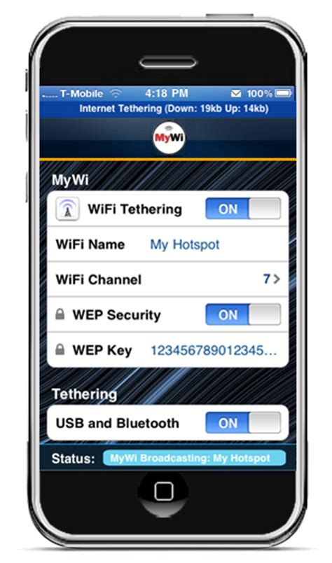 tethering iphone turn your iphone into a wifi hotspot techgeec