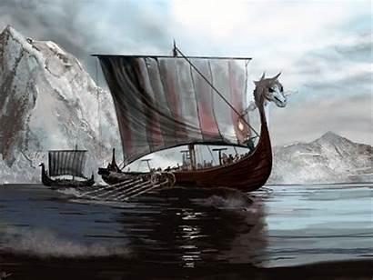 Longship Dragon Viking Ships Oldest History Vikings