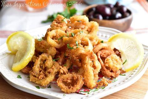calamars frits recette tapas facile le cuisine de samar