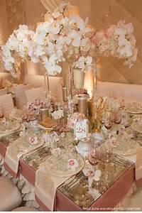 Rose Gold Decor : v152 our muse romantic rose gold wedding tara blake part 3 ceci style ~ Teatrodelosmanantiales.com Idées de Décoration