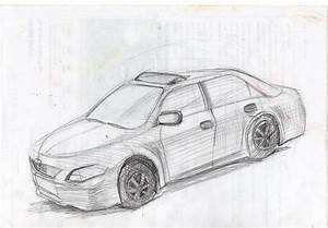 Toyota Camry Sketch At Paintingvalley Com