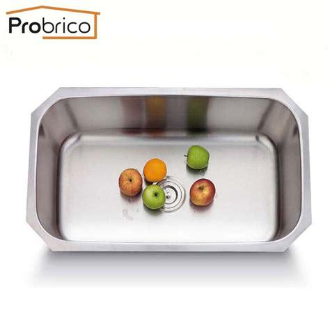 kitchen sink manufacturers usa aliexpress buy probrico kitchen sink cupc ks8047abs 5852