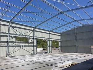 Panneaux Sandwich Pas Cher : montage d 39 un hangar en pr fabriqu avec panneaux sandwich ~ Melissatoandfro.com Idées de Décoration