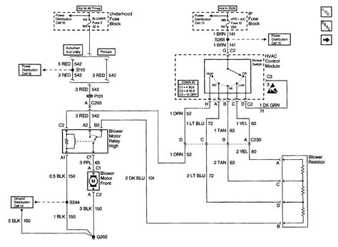 Wiring Diagram For 1999 Chevy Silverado by I A 1999 Chevrolet Suburban 1500 Heater Fan Is Not