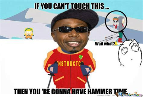 Mc Hammer Meme - rmx mc hammer the ski instructor by trolzar345 meme center