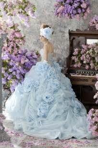 pale blue wedding dress stella de libero color wedding dresses wedding inspirasi