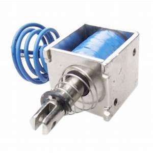Dc 12v 2a Pull Type Linear Solenoid Electromagnet 10mm 20n