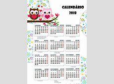 Planner 2018 com o tema Corujinha– Planejamento 2018 para