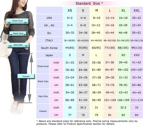 Women's Sizing Measurement Chart  Standard Sizes  Useful. Kitchens With Dark Cabinets And Wood Floors. Kitchen Cabinet Penang. How To Install Toe Kicks On Kitchen Cabinets. Kitchen Cabinets Augusta Ga. White Kitchen Cabinets With Black Granite Countertops. How To Clean Stained Kitchen Cabinets. Kitchen Cabinet Bottom Molding. Grey Kitchen Cabinets What Colour Walls