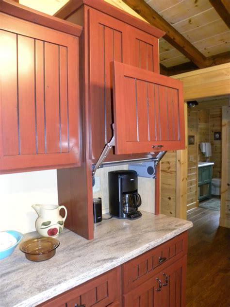lift  door  appliance garage farmhouse kitchen