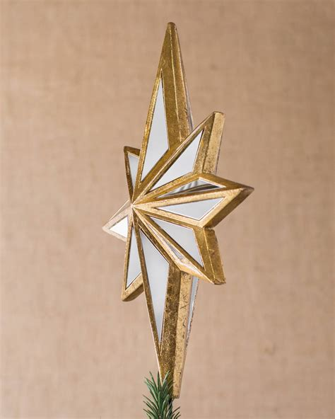 mirrored star tree topper balsam hill