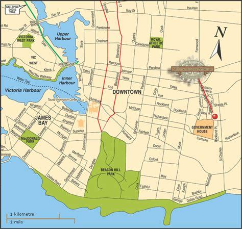 victoria canada map