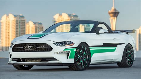 Ford Mustang by 2018 Mad Industries Ford Mustang Convertible 4k Wallpaper