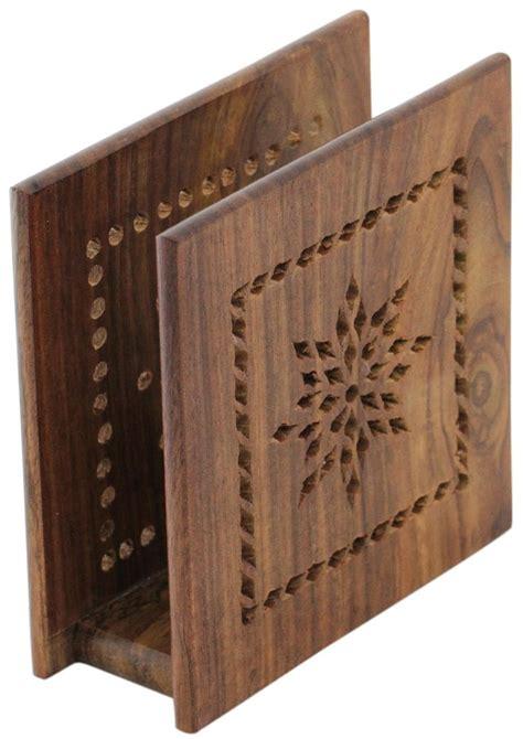 timeless creations handmade  wooden napkin holder