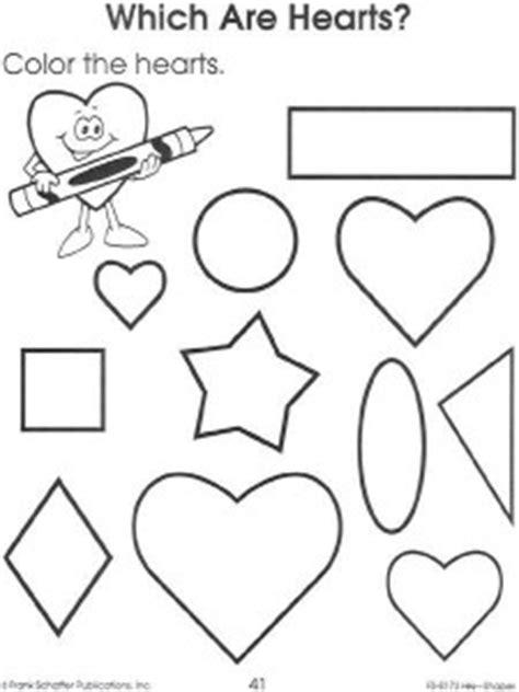 printable shape worksheet  kids crafts  worksheets  preschooltoddler