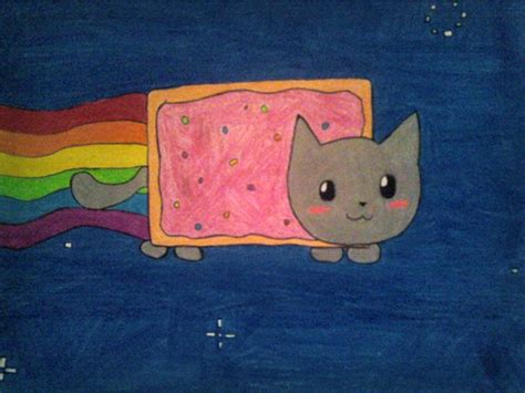 nyan cat drawing nyan cat play