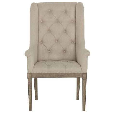 city furniture marquesa beige upholstered arm chair