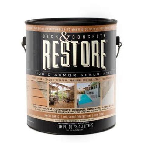 rust oleum restore 1 gal tint base deck concrete 10x
