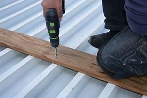 Support Terrasse Bois : platelage terrasse bois tanche bac acier ~ Premium-room.com Idées de Décoration
