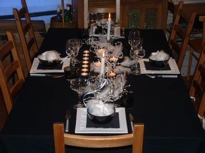 noir blanc etes fiere decoration table fete montrez 52645 diverses deco tables pri y