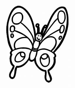 Cute Butterfly Clipart Black And White | www.pixshark.com ...