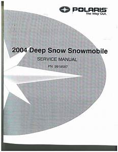 2004 Polaris Rmk And Switchback Snowmobile Service Manual