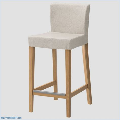 chaise bar 65 cm luxe henriksdal bar stool with backrest