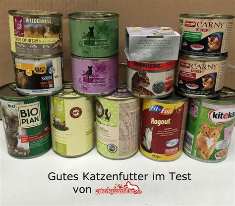 gutes katzenfutter hochwertiges katzenfutter im test