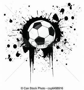 Clip Art Vektor von fussball, Kugel csp6498916 - Suchen ...