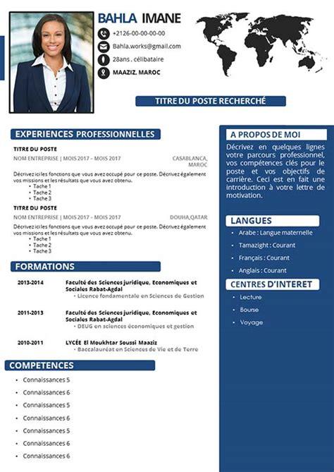 Des Cv Professionnel by Cv Professionnel Powerpoint