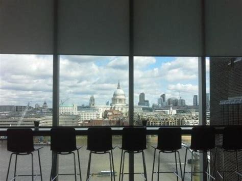 view from the restaurant at the tate modern picture of tate modern restaurant