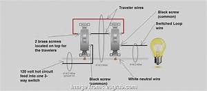 Light Switch Wiring Common Loop Simple Wiring Diagram  2 3