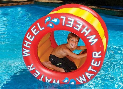 The Inflatable Water Wheel Water Float Toy for Swimming