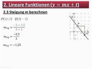 Grundstück Berechnen Formel : 9 2 3 steigung m berechnen youtube ~ Themetempest.com Abrechnung