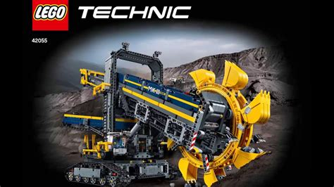 lego technic 42055 lego technic 42055 wheel excavator diy