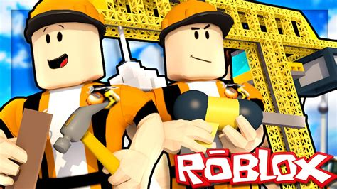 roblox adventures disaster   construction site