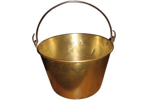Solid Brass Bucket   Omero Home