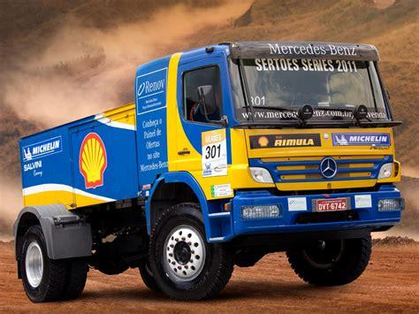 rally truck racing 2006 mercedes benz atego 1725 rally truck race racing
