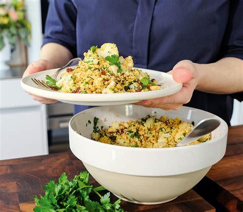 couscous salat mit blumenkohl annemarie wildeisens kochen