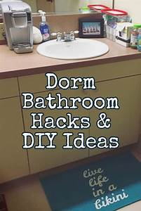 Dorm Bathroom Ideas & Hacks - DIY Dorm Bathroom Decor