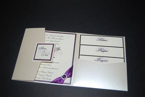 Folded Wedding Invitations Uk