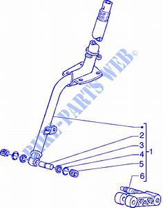 Steering Column For Piaggio Hexagon Gtx Other Year   Piaggio Vespa Gilera