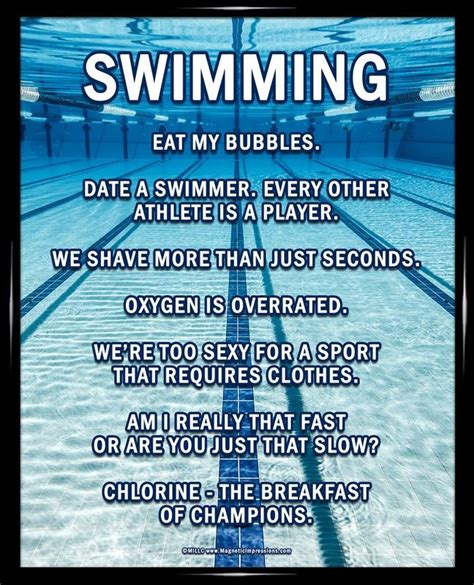 Swimming Quotes | Swimming Sayings | Swimming Picture Quotes